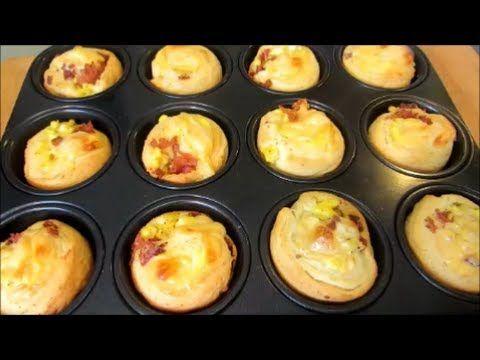 Bacon Egg and Cheese Breakfast Bites | Breakfast | Pinterest