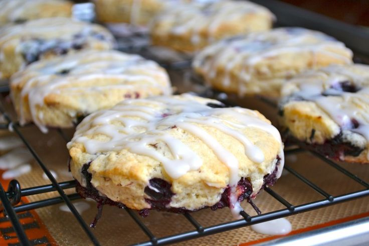 Blueberry Almond Scones | Recipe