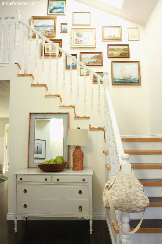 ... in the fun lane: Shopping my own home