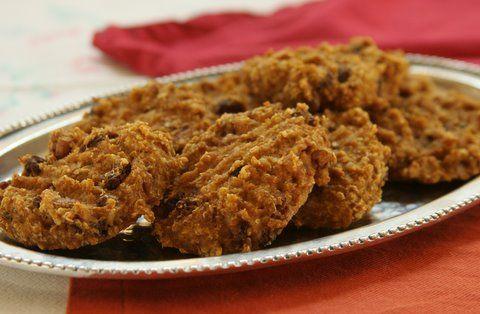 Flourless Pumpkin-Pecan Cookies #glutenfreerecipes #glutenfree # ...