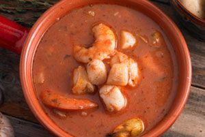 Slimming Seafood Bisque