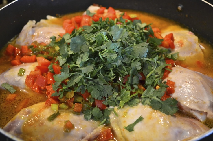 "Point-less"" Meals: Sofrito Chicken Stew 