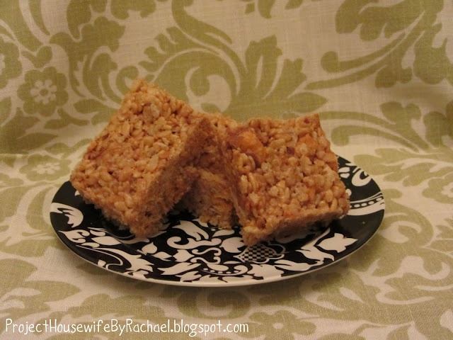Butterfinger Rice Krispie Treats. I love all the ingredients, How ...