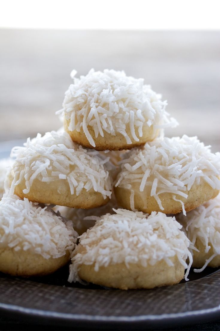 snowball cookies | Delicious Sweet Calories | Pinterest