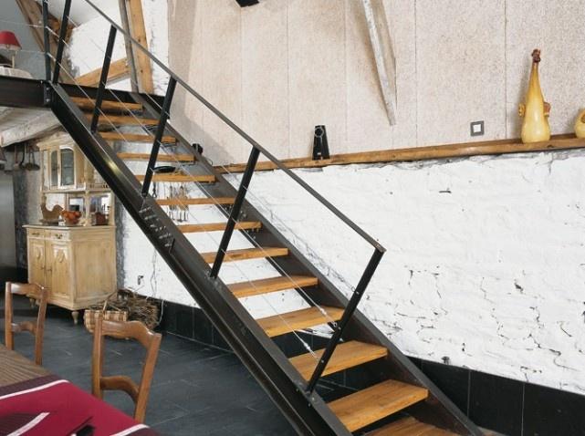 escalier a voie maison design hompot