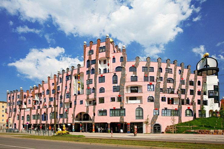 Magdeburg Germany  city pictures gallery : Grüne Zitadelle Magdeburg, GERMANY | Incredible Buildings | Pintere ...