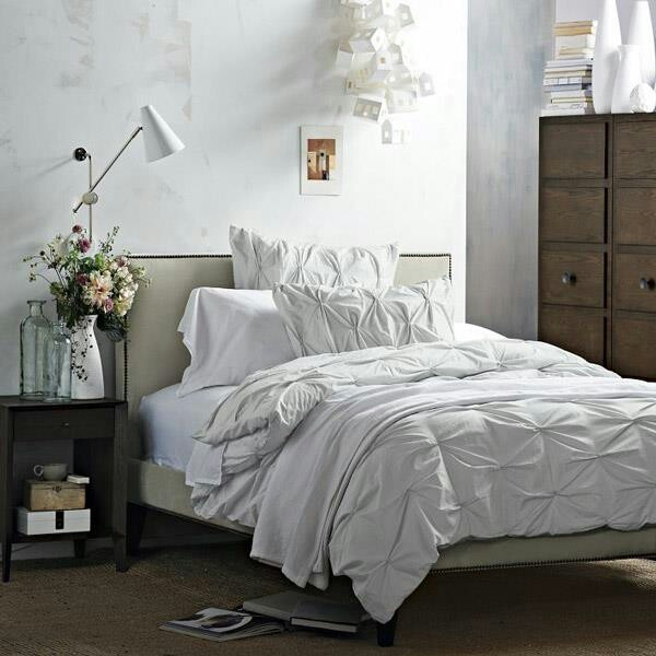 west elm i love everything about the all white bedding