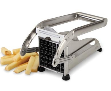 ... blades that yield up to 36 steak fries or 64 matchstick fries
