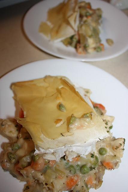 Skinny Chicken Pot Pie. Comfort food for winter.