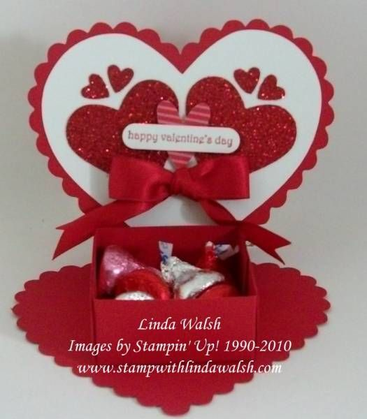 valentine's day treat bags pinterest