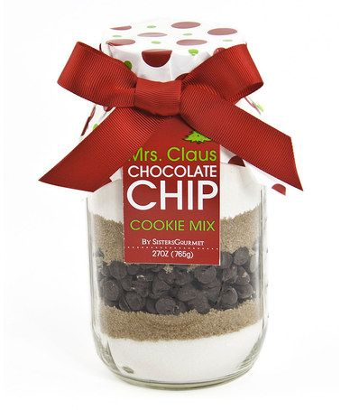 Take a look at this Holiday Chocolate Chip Cookie Mix - Set of Two by ...