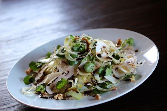 Fennel, Mushroom, Watercress, Parmesan, Walnut, Olive Oil, Balsamic ...