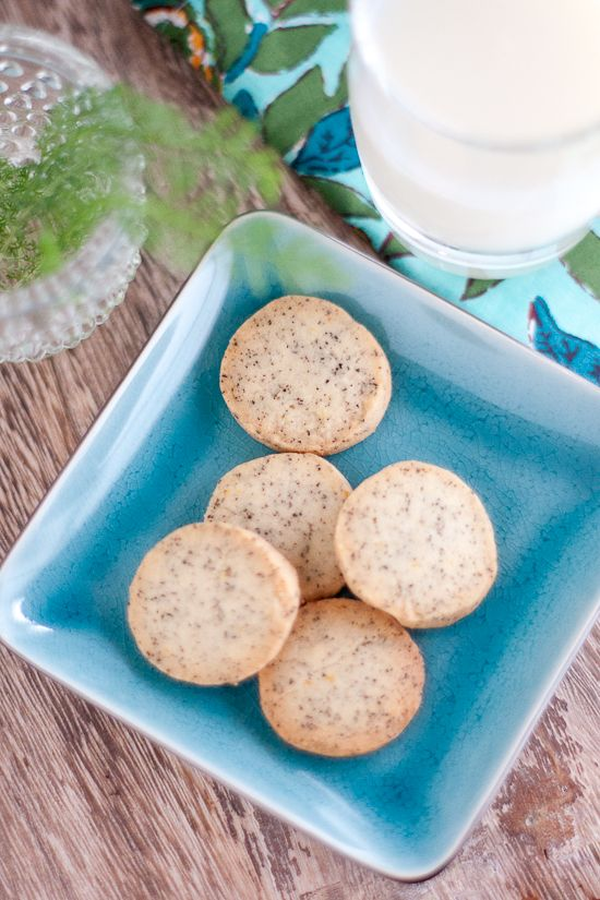 Earl Grey Tea Cookies | food | Pinterest