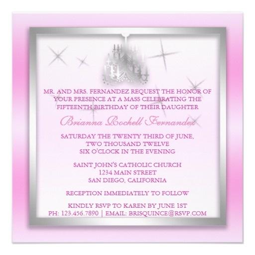 Invitations Quinceanera was adorable invitation ideas