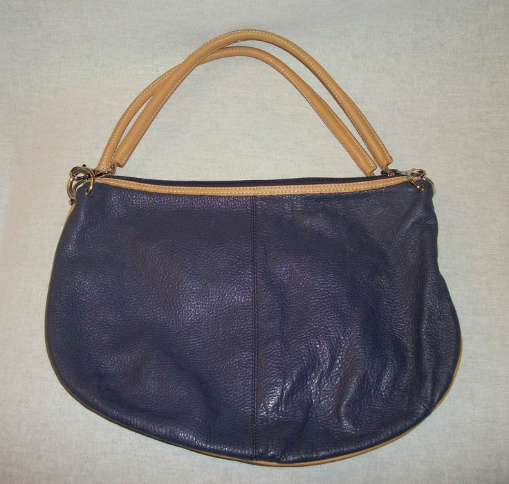 MAXX NEW YORK Purple/Eggplant Pebbled Leather Hobo Slouch Handbag. Excellent Pre-Owned Condition! $39.99 obo (Free S&H)
