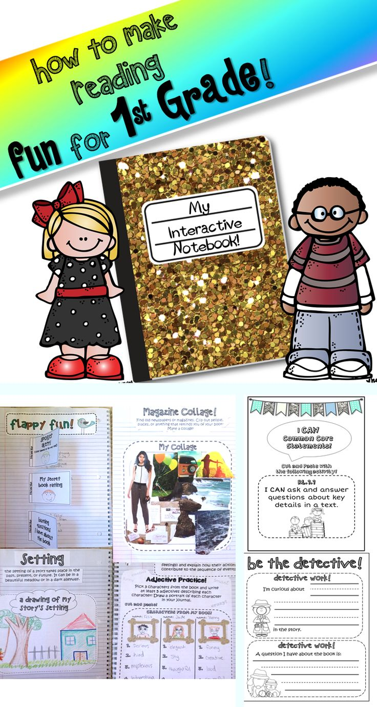 Get your 1st graders excited about reading! Make reading interactive ...