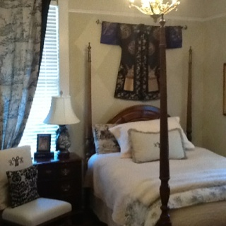 Toile toile and more toile.  bedrooms  Pinterest