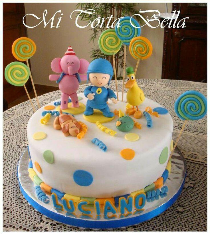 Torta De Pocoyo Y Sus Amigos