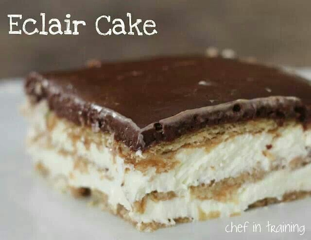 Eclair cake | Recipes & Drinks | Pinterest