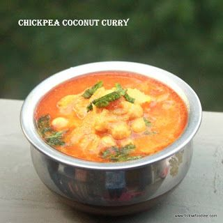 Follow foodie: Chickpea Coconut Curry | Garbanzo Bean Curry