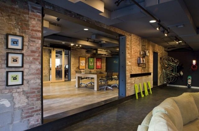 Urban office work charettes pinterest for Urban interior designs