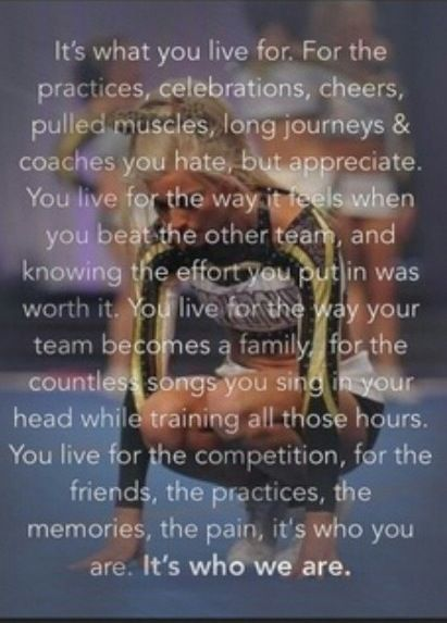gallery for inspirational cheerleading quotes and sayings