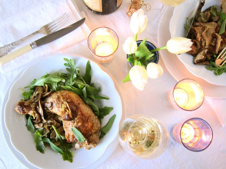 Braised Chicken With Mushrooms Recipe — Dishmaps