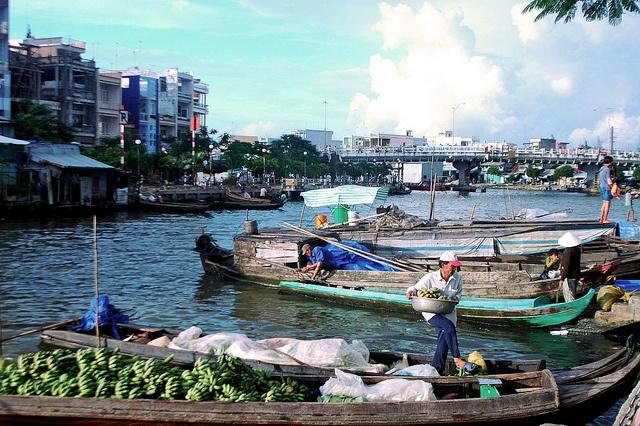 Ca Mau Vietnam  city photo : Riverside Ca Mau, Viet Nam   Vietnam   Pinterest