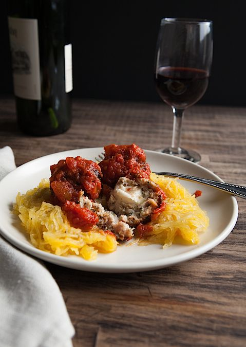 Chicken Parm Meatballs Recipe — Dishmaps