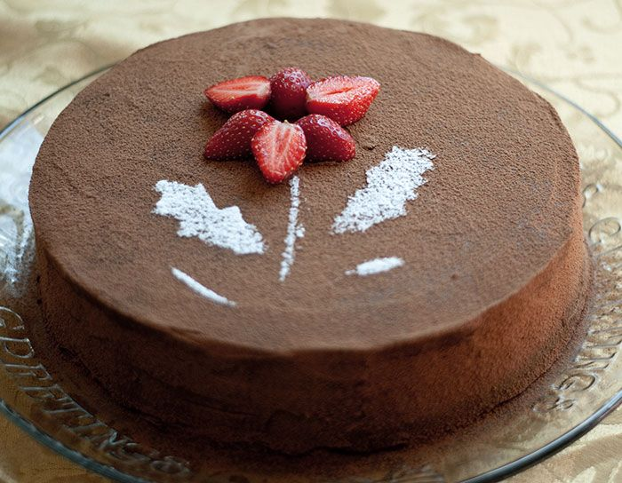 how to make chocolate ganache for filling of cakes