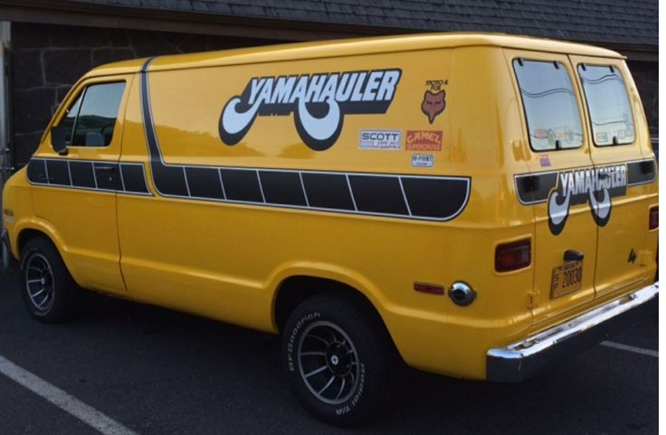Dodge Van Yamahauler La Moto Pinterest