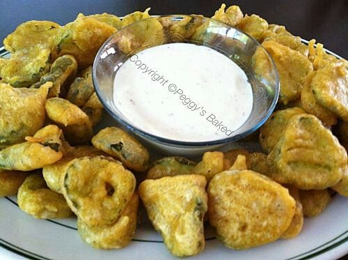 Peggy's crispy fried dill pickles | Recipes | Pinterest