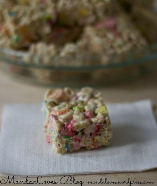 recipe lucky charms marshmallow treats treats