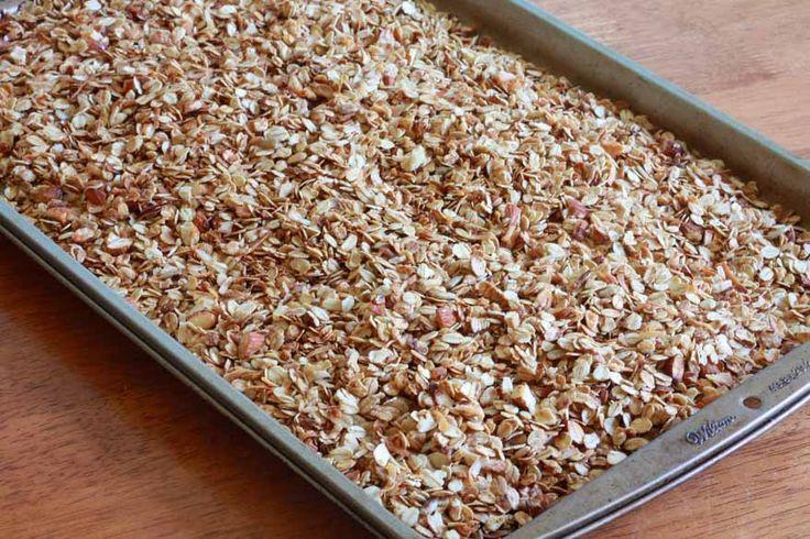 Simple & healthy granola recipe.
