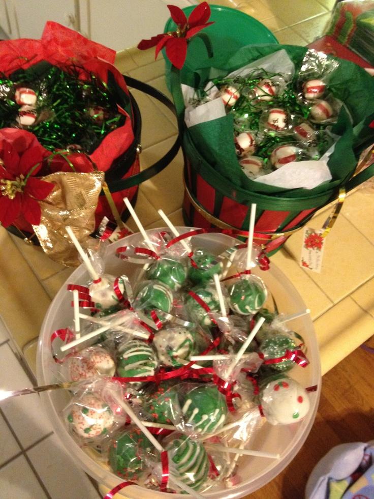 Christmas Cake Pop Ideas On Pinterest 28645 Christmas Cake
