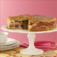 Italian Brunch Torte Recipe | Breakfast | Pinterest