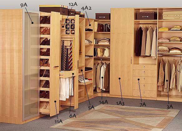Imagen 1 closets dream home pinterest for Zapateras para closet