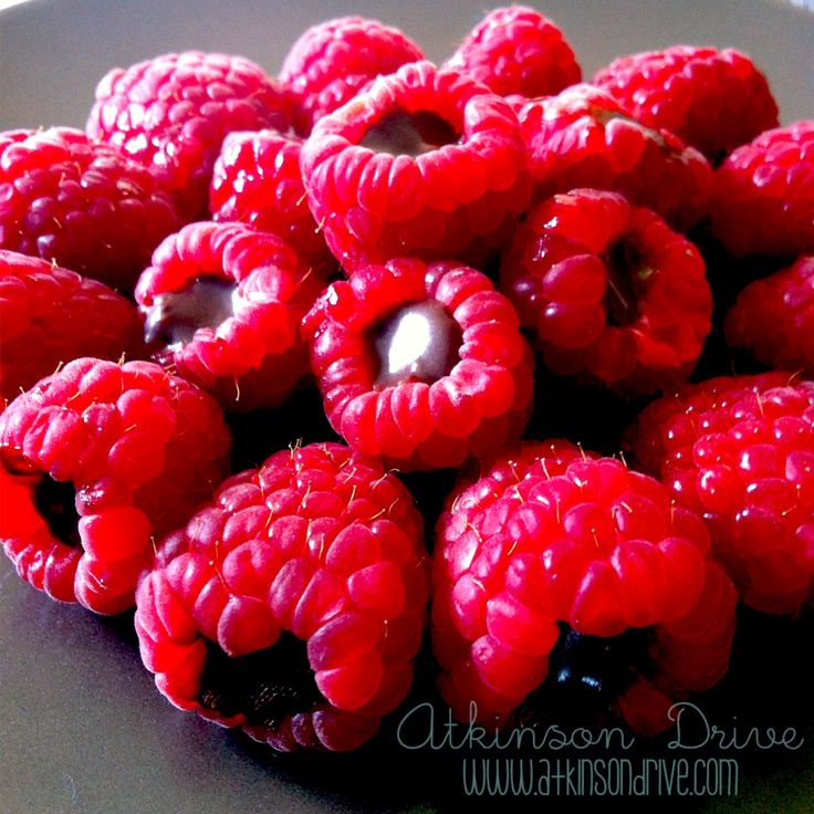 Chocolate Filled Raspberries | Atkinson Drive