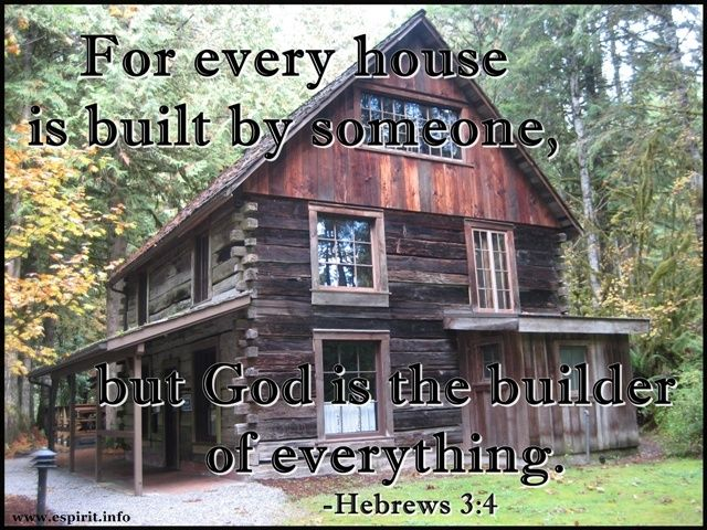 -Hebrews 3:4 | The World View | Pinterest
