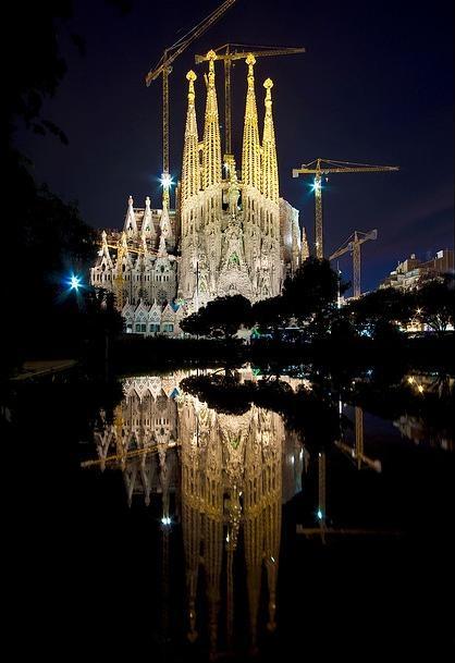 The Sagrada Familia -  Barcelona, Catalonia, Spain
