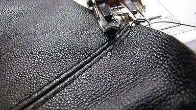 How to sew leather... a few tips