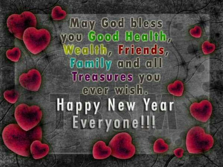 Happy New Year..may God bless you.. | • New Year • | Pinterest