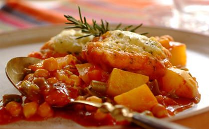 Hearty Vegetable Stew with Parmesan Dumplings recipe | Family ...
