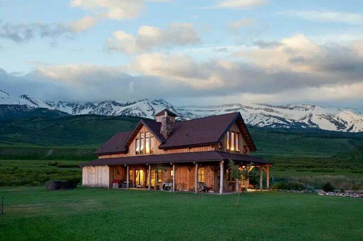Beautiful Barn House Dream Homes Pinterest