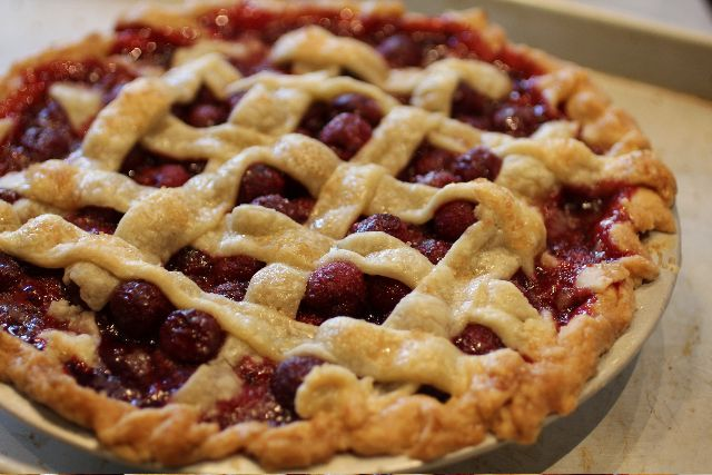 sour cherry pie | Happy Easter | Pinterest