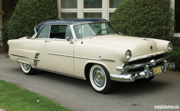 Pin by car pictures on car pictures pinterest for 1953 ford crestline victoria 2 door hardtop