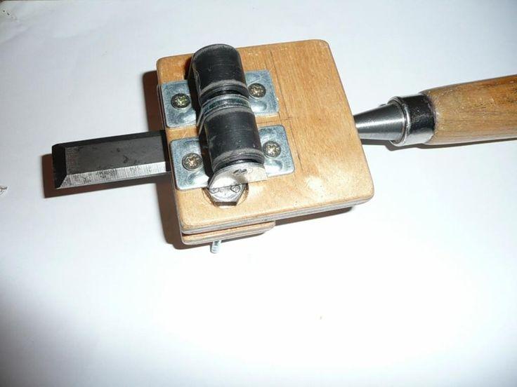 Самодельные приспособления для заточки инструмента