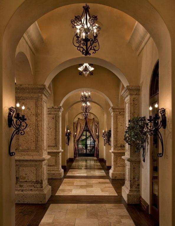 Grand italian villa luxury homes interiors pinterest for Italian villa interior