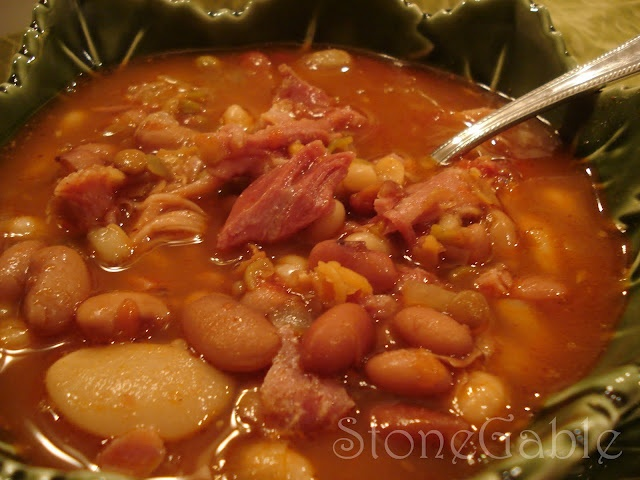 Stonegable ham and bean soup | Soups and Stews | Pinterest