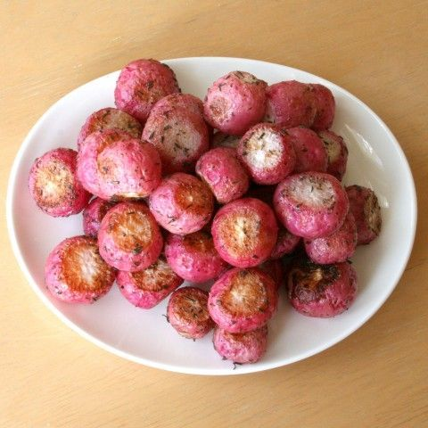 Have you ever roasted radishes? It transforms them! Super easy recipe ...